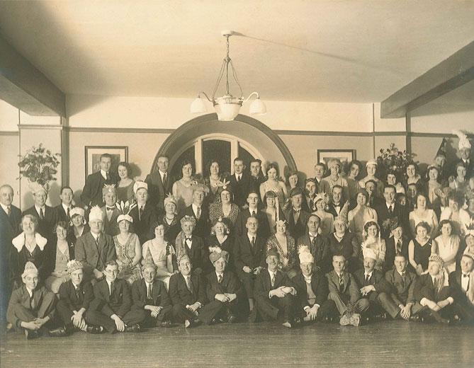 Lovells Mad Hatters Dinner c.1930