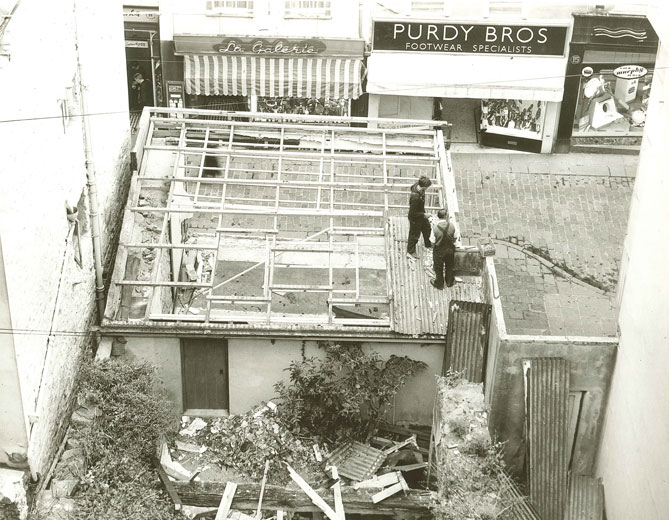 Lovells Le Pollet Demolition c.1950