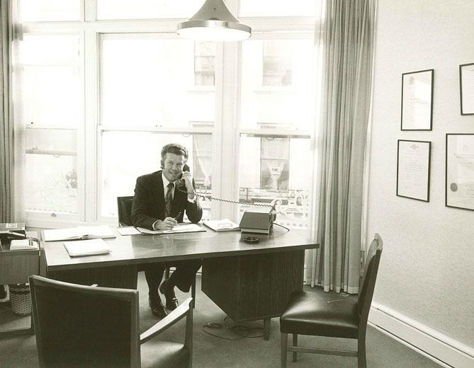 Ben Lovell At Work c.1965