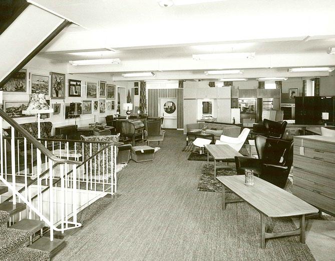 Lovells Furniture Dept. c.1960