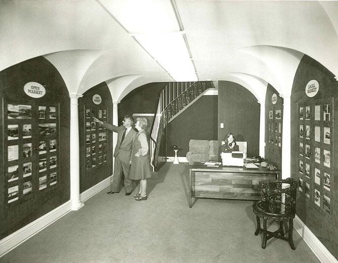 Lovells Property Showroom c.1970