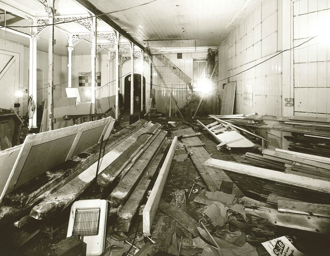 Lovells Refurbishment, Smith Street c.1950
