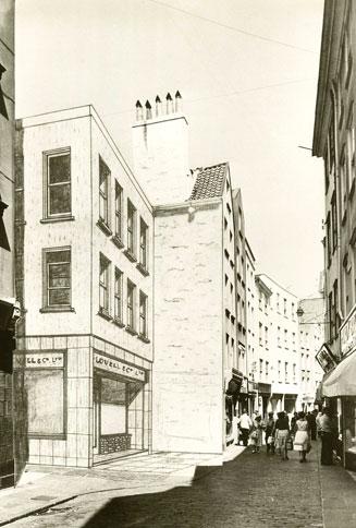 Plans For Lovells, Le Pollet c.1950