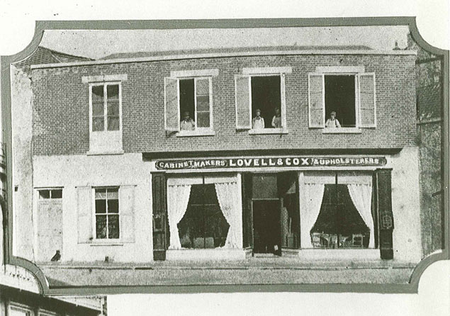 Lovell & Cox Store, Trinity Square, St Peter Port c.1890