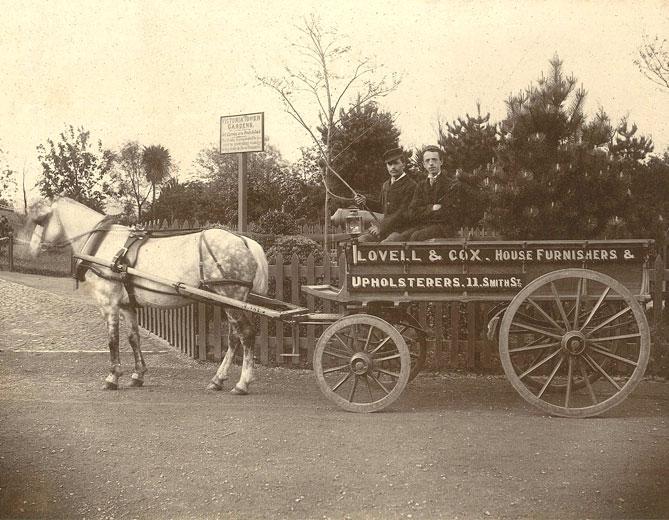Lovells Cox Removals c.1890