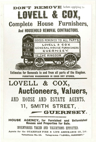 An early advertisement c.1900