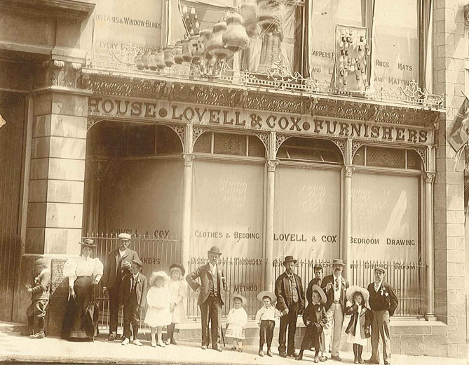 Lovell & Cox Smith Street Celebrations c.1900